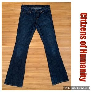 Citizens of Humanity Jeans. Low Waist Flare